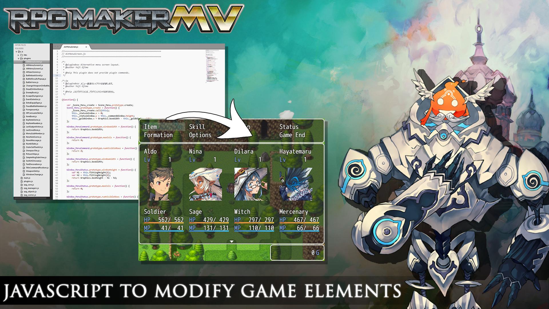 RPG Maker MV   Game Dev Unlimited