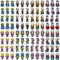 RPG Maker VX Ace Character Sprites - Resources | Game Dev