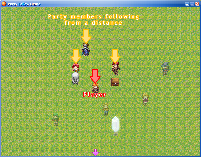 Moonpearl's Party Interaction - RPG Maker XP - Gameplay Scripts