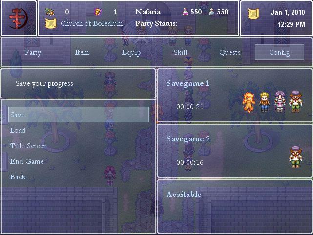 RPG Maker XP Window Scripts | Game Dev Unlimited