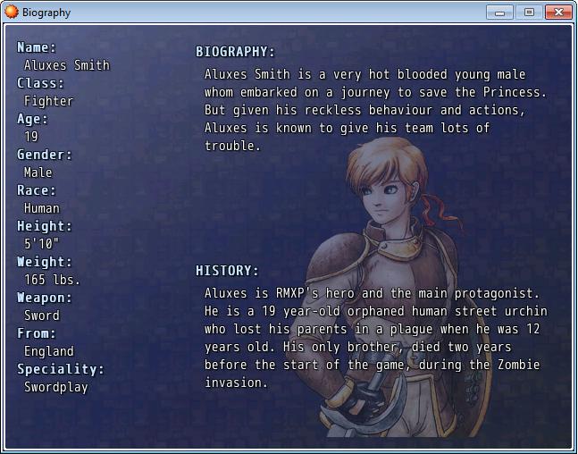 RPG Maker XP Misc System | Game Dev Unlimited
