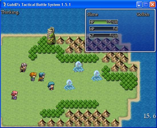 Rpg Maker Xp Custom Battle Scripts: GubiD's Tactical Battle System