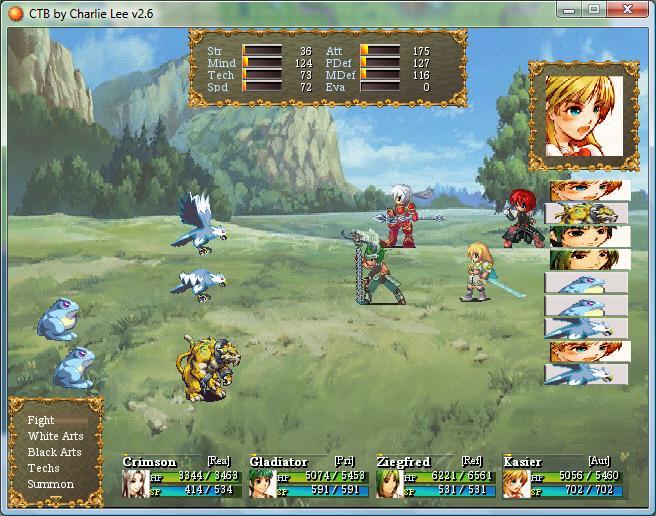 Ctb A Final Fantasy X Like Battle System Rpg Maker Xp