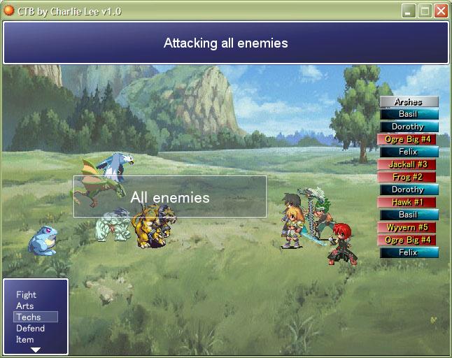 CTB - A Final Fantasy X-like Battle System - RPG Maker XP