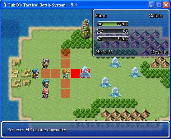 GTBS - GubiD's Tactical Battle System - RPG Maker XP