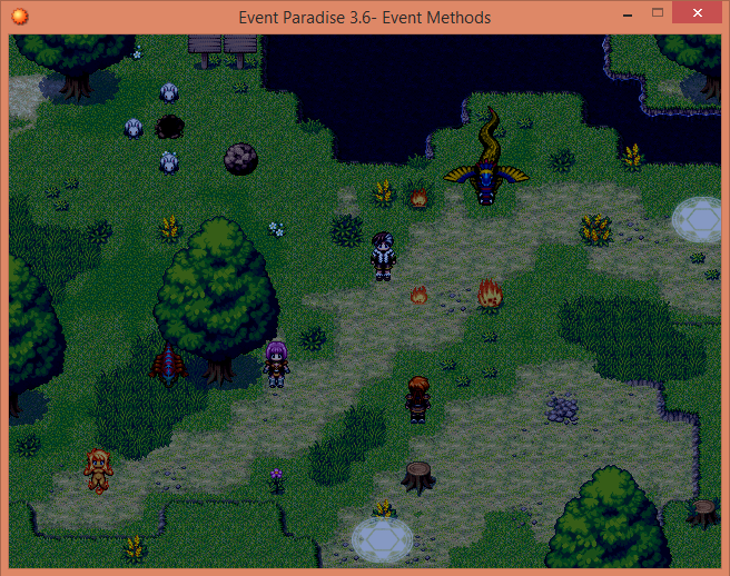 Battle Command List Rpgmaker Net: Event Paradise - RPG Maker XP - Addon Collection