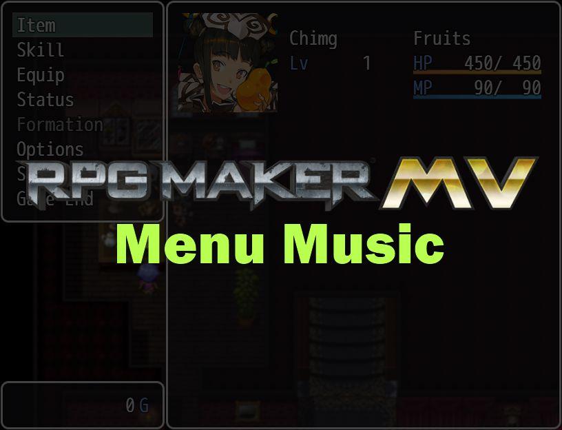 RPG Maker MV Custom Menu Plugins | Game Dev Unlimited