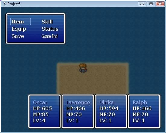 A Custom Menu Hud Script: Dragon-Quest Style Status Indicator