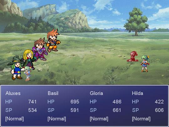 RPG Maker XP Custom Battle Scripts   Game Dev Unlimited
