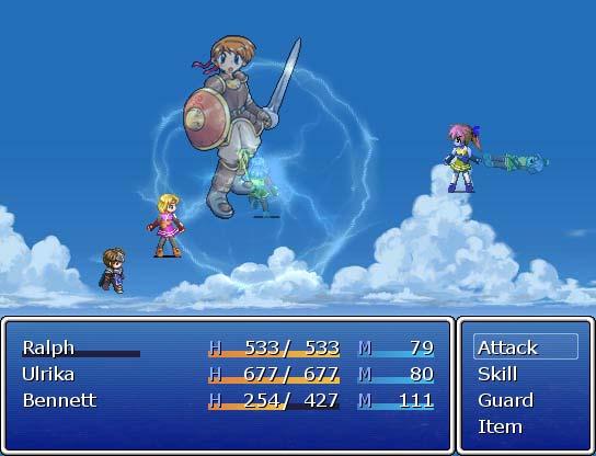 Animated Battlers VX - RPG Maker VX - Custom Battle Scripts